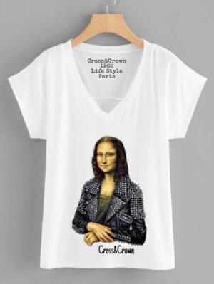 camiseta mona lisa