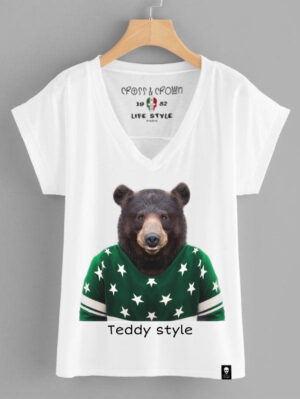 Camiseta Teddy Style