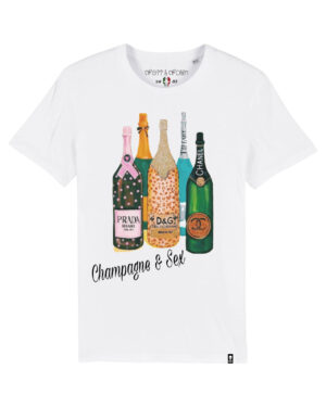 Camiseta champagne & sex