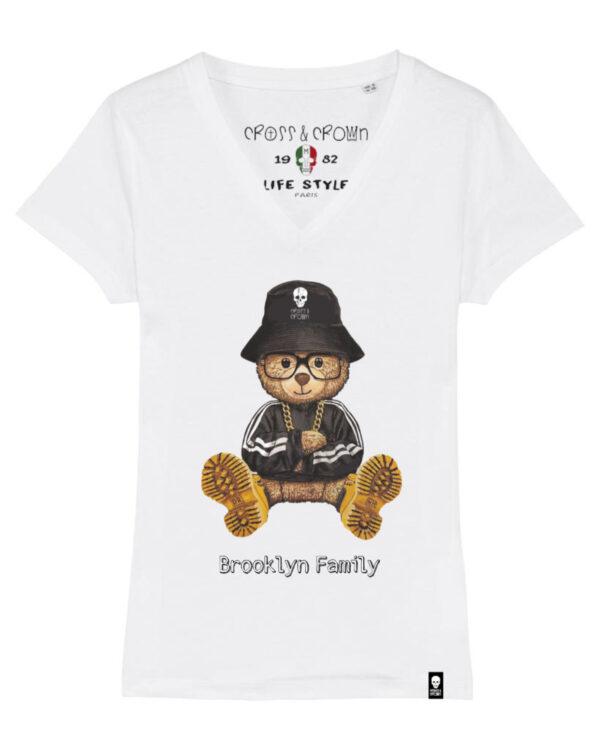 Camiseta Brooklyn family pico