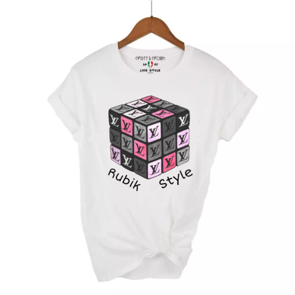 Camiseta rubik style
