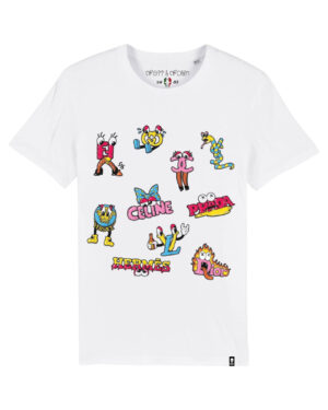 Camiseta cartoon brands