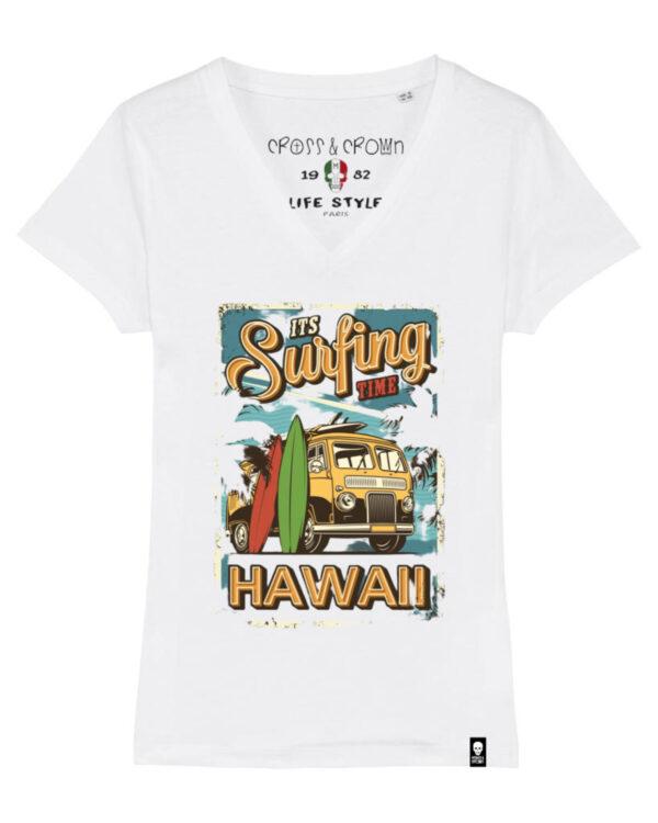 Camiseta Surfing Hawaii